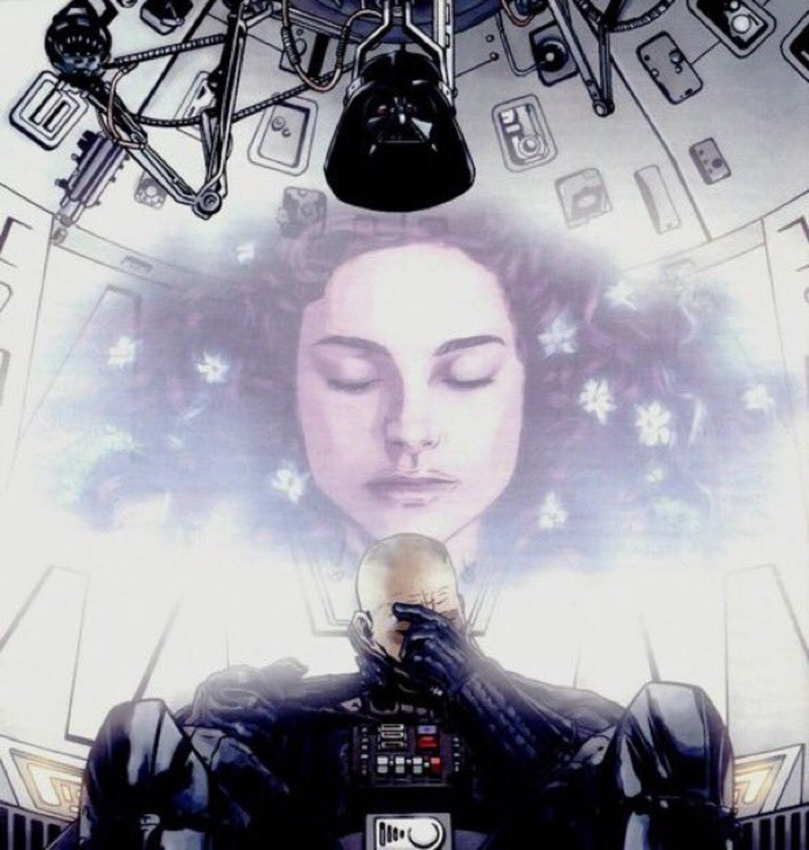 Darth Vader remembers Padme
