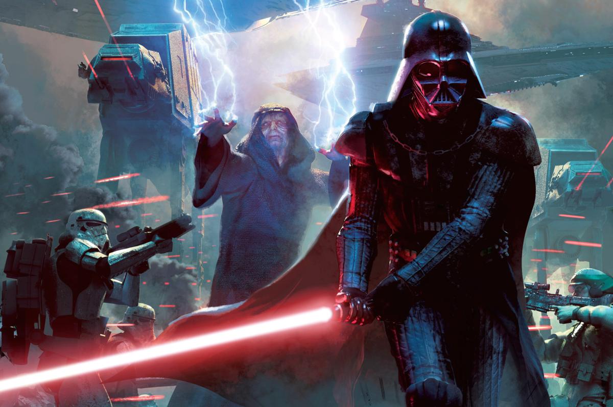 The Emperor and Darth Vader