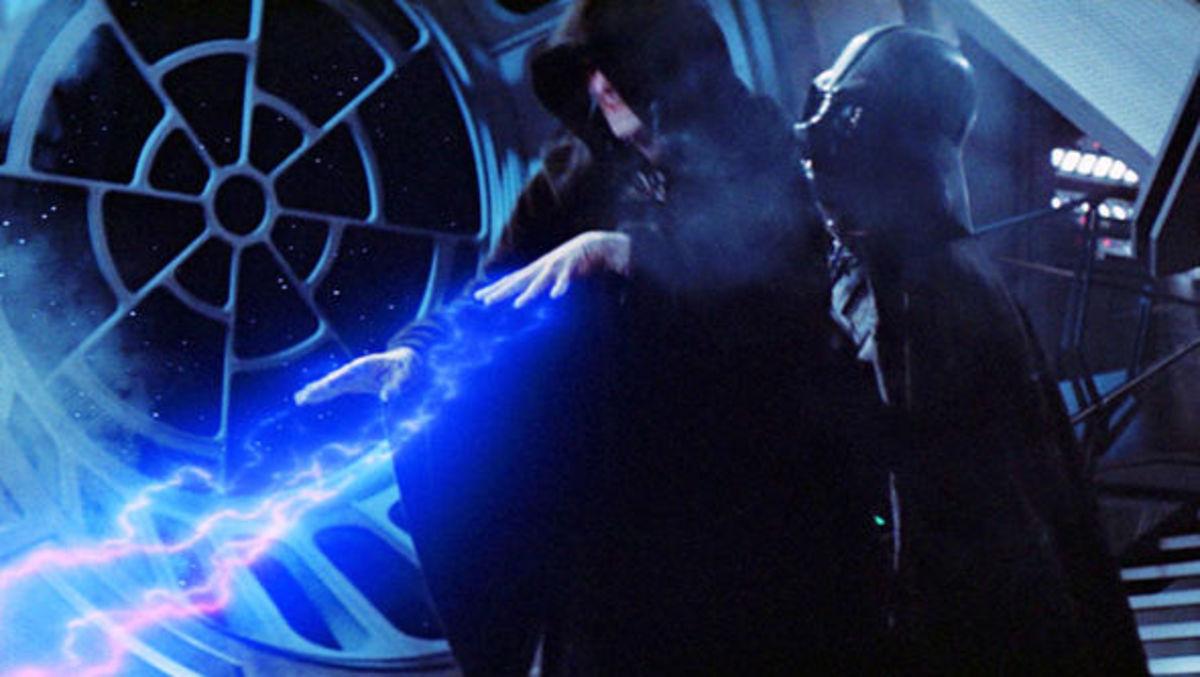 Vader kills the Emperor