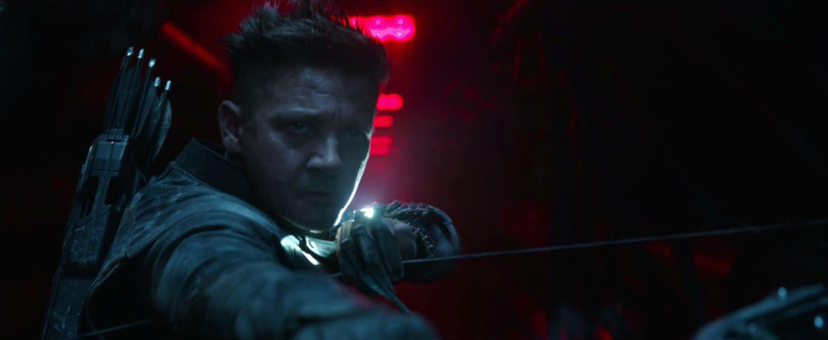 "Clint Barton (Jeremy Renner) has evolved to a darker version of himself in, ""Avengers: Endgame."""