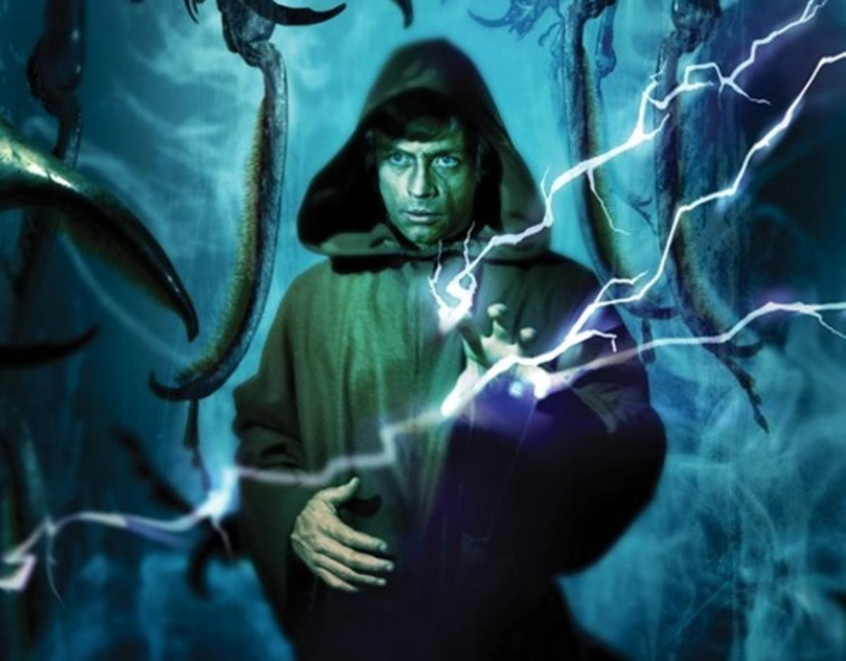Luke using Electric Judgment