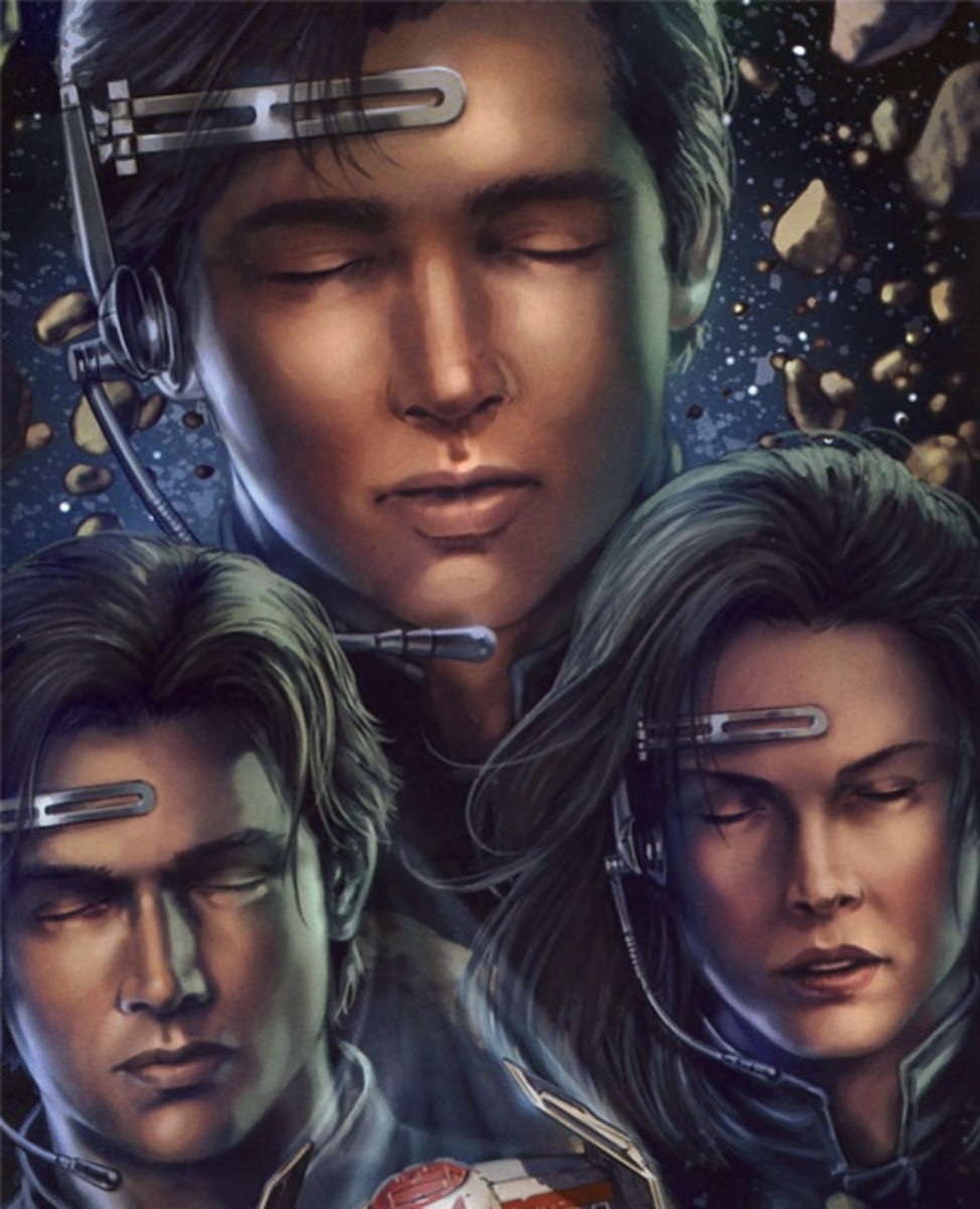 Jacen, Anakin, and Jaina Solo using Force Meld