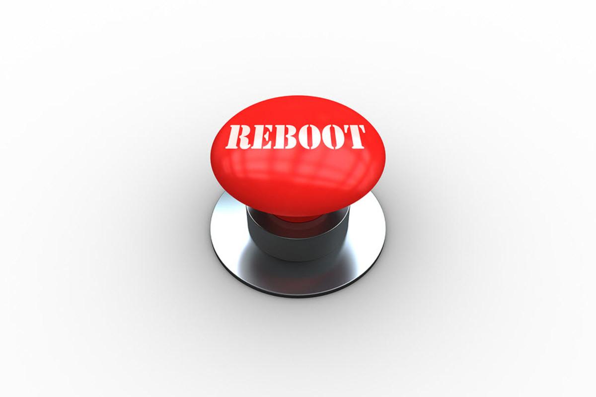 When in doubt, reboot it.