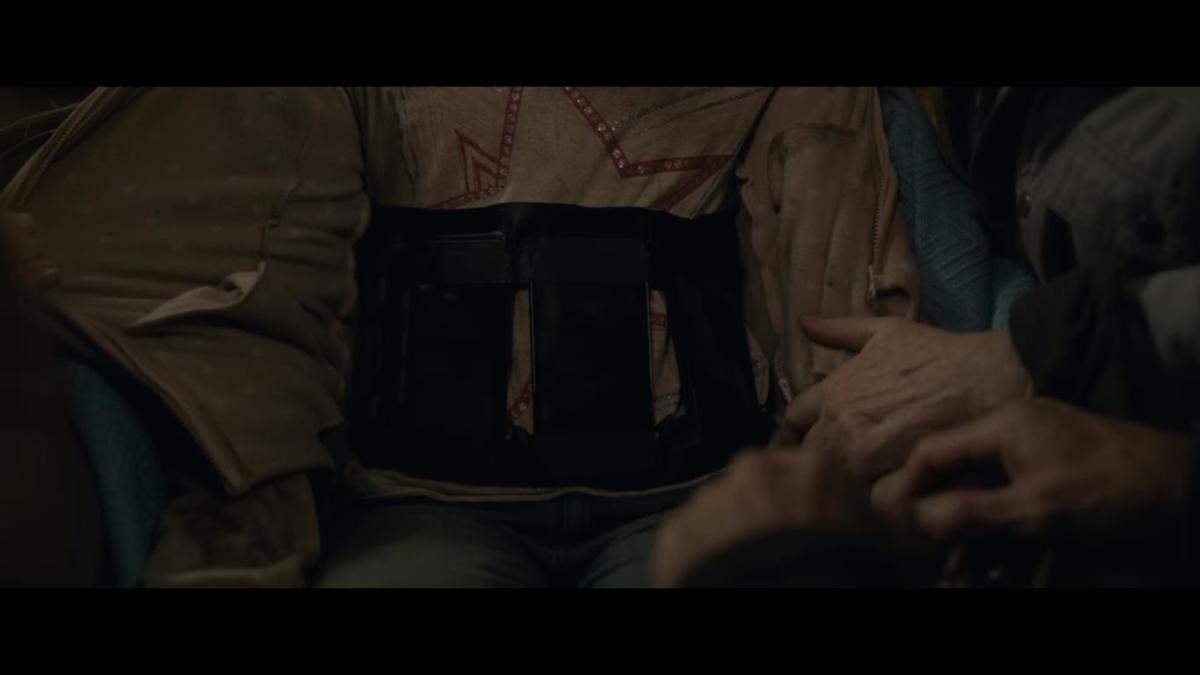 Cult member's Iphone suicide vest