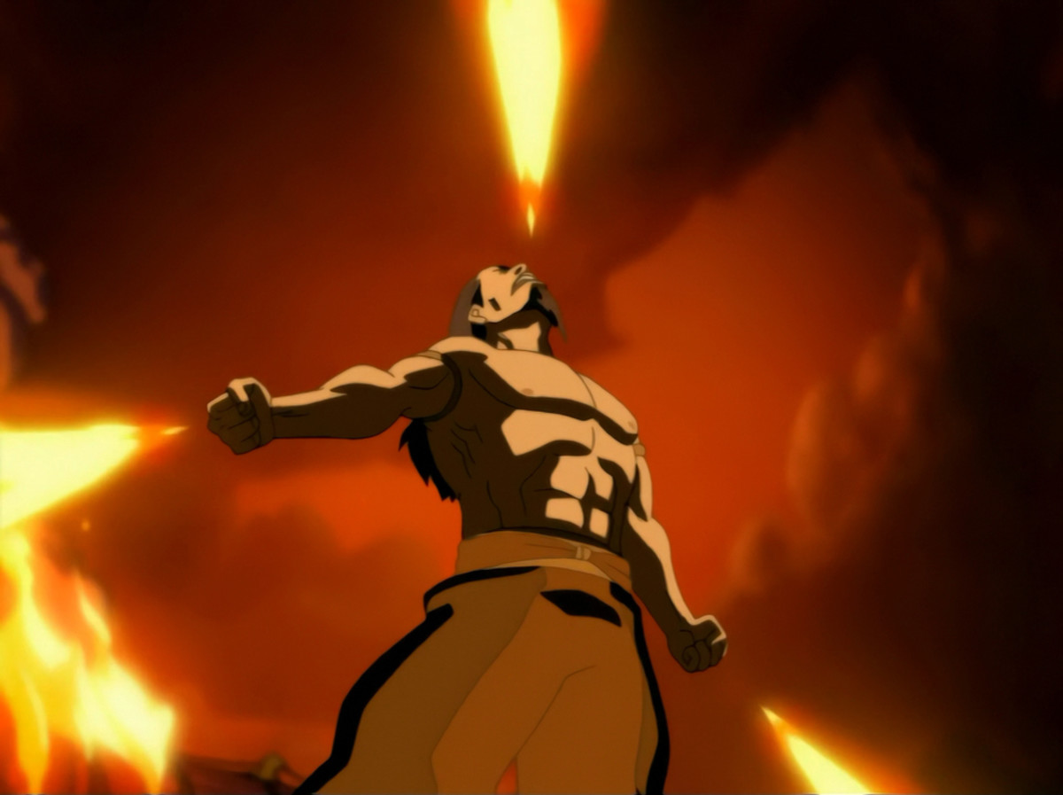 Firelord Ozai in Avatar