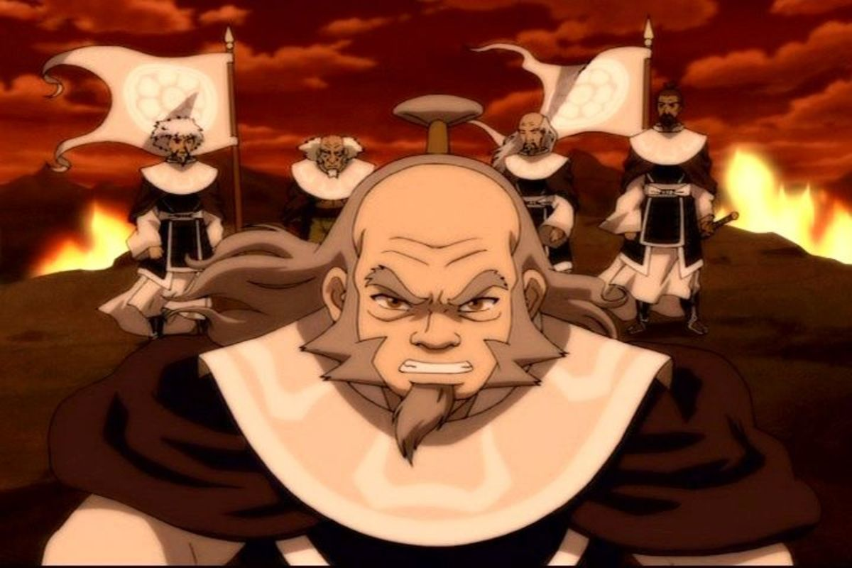 Uncle Iroh in Avatar