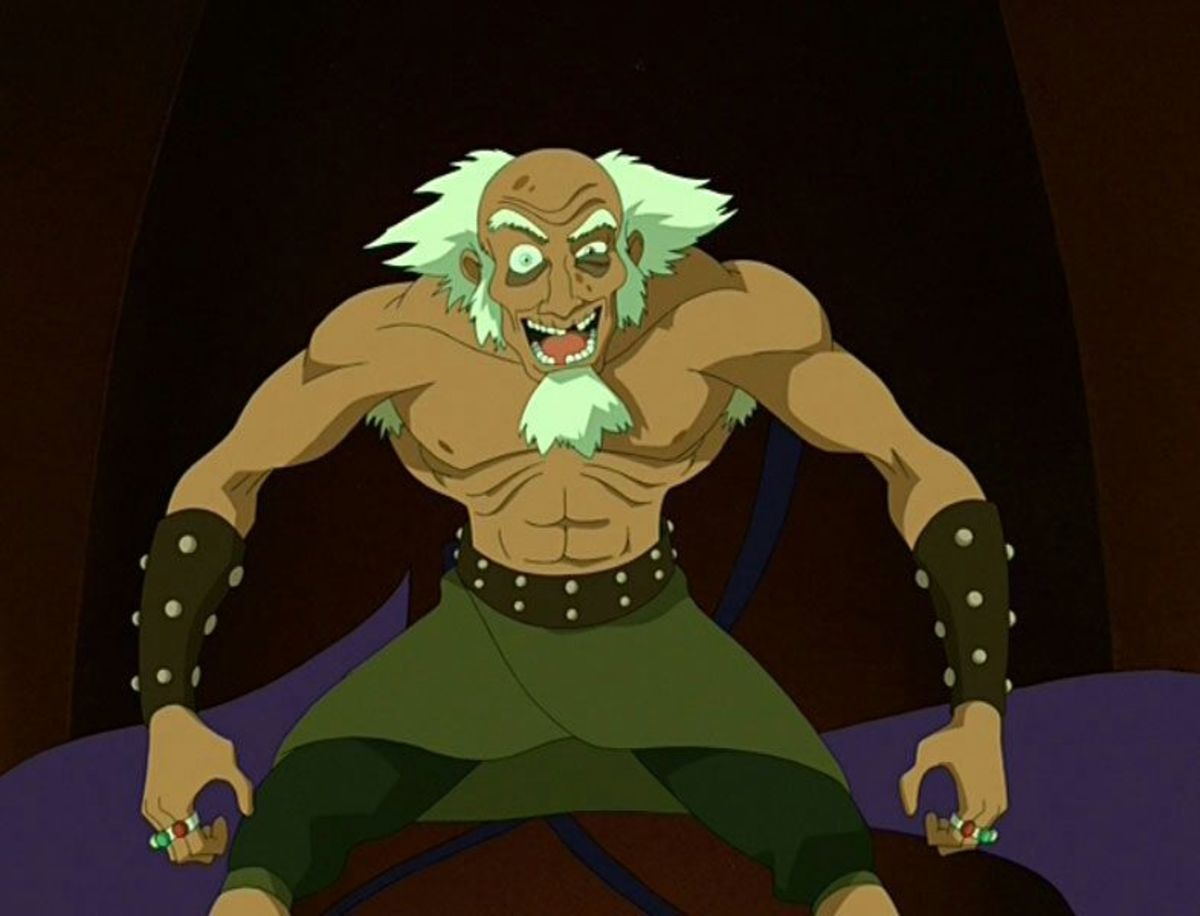 King Bumi in Avatar