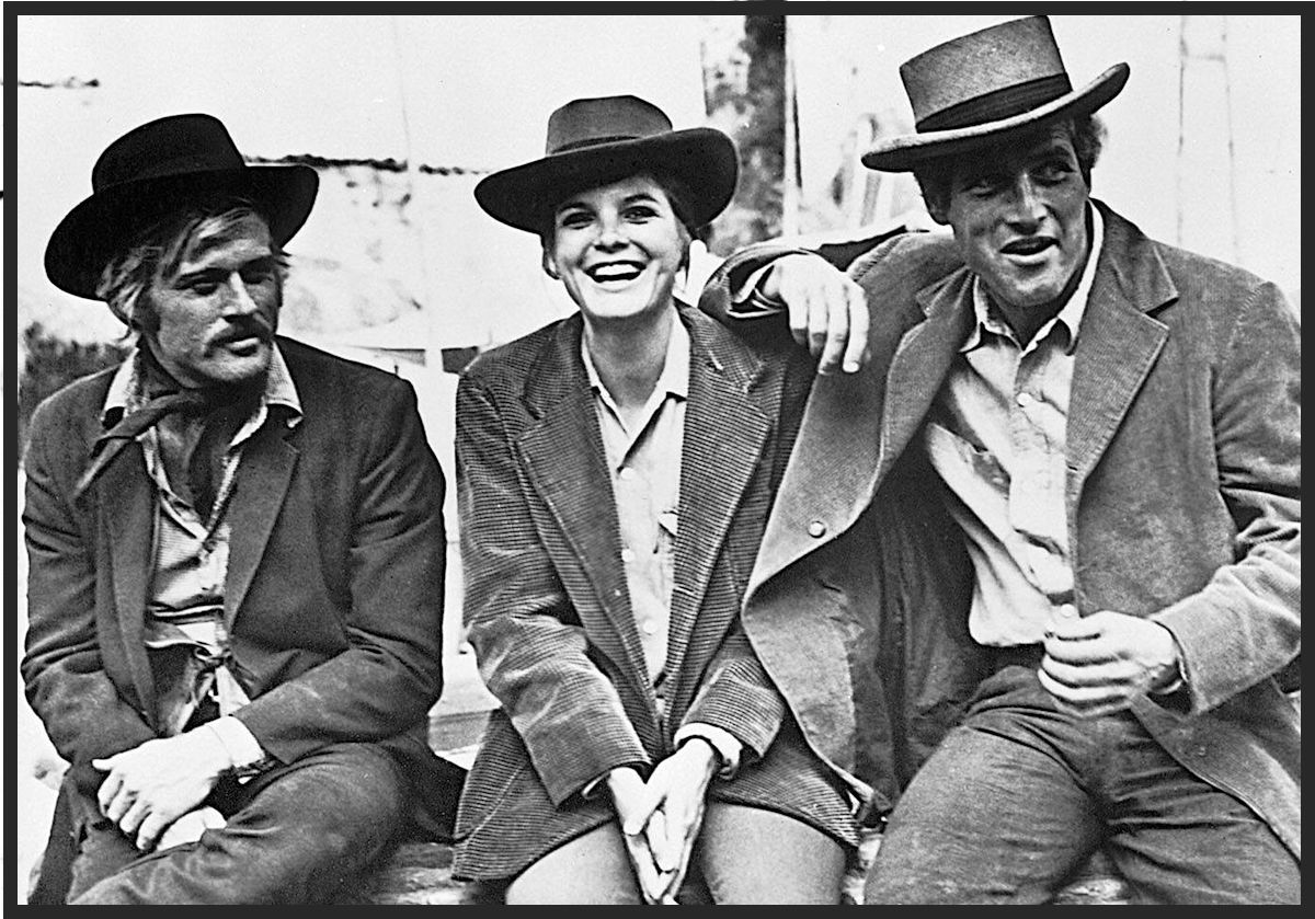 While filming Butch Cassidy and the Sundance Kid, Katharine Ross was having an affair with the movie's cameraman, and Paul Newman was seeing an attractive journalist named Nancy Bacon.