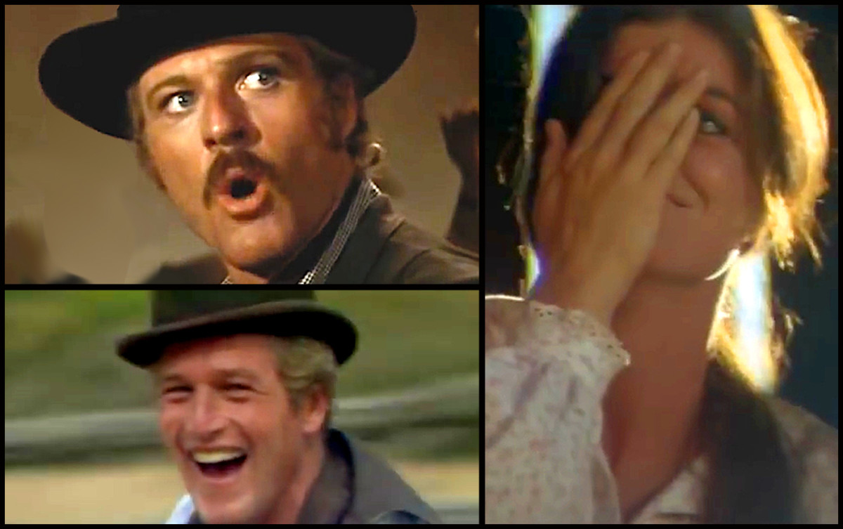 The three stars of Butch Cassidy and the Sundance Kid were Paul Newman, Robert Redford, and Katharine Ross.