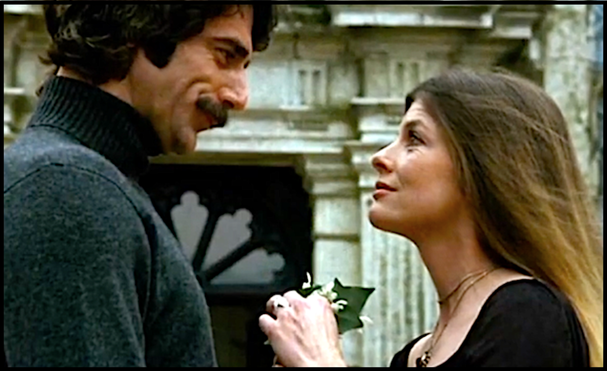 Katharine Ross was married to her fourth husband in 1978 when she fell in love with handsome co-star Sam Elliott while the pair were filming The Legacy in London.  They married six years later after learning Ross was pregnant.