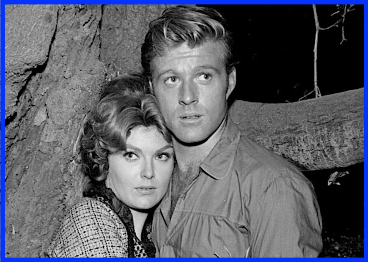 Robert Redford in a guest appearance in 1964 on The Virginian.