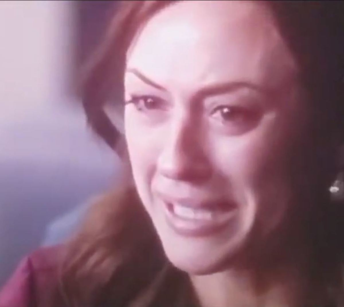 Half my scenes are crying while the other half is no emotion whatsoever!