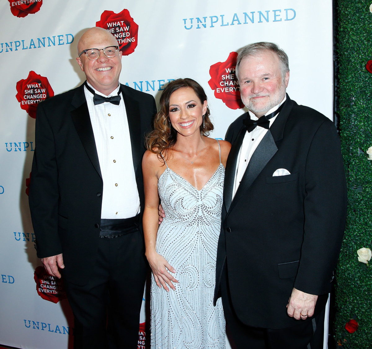 Writers/Directors Chuck Solomon and Cary Konzelman with actress Ashely Bratcher.
