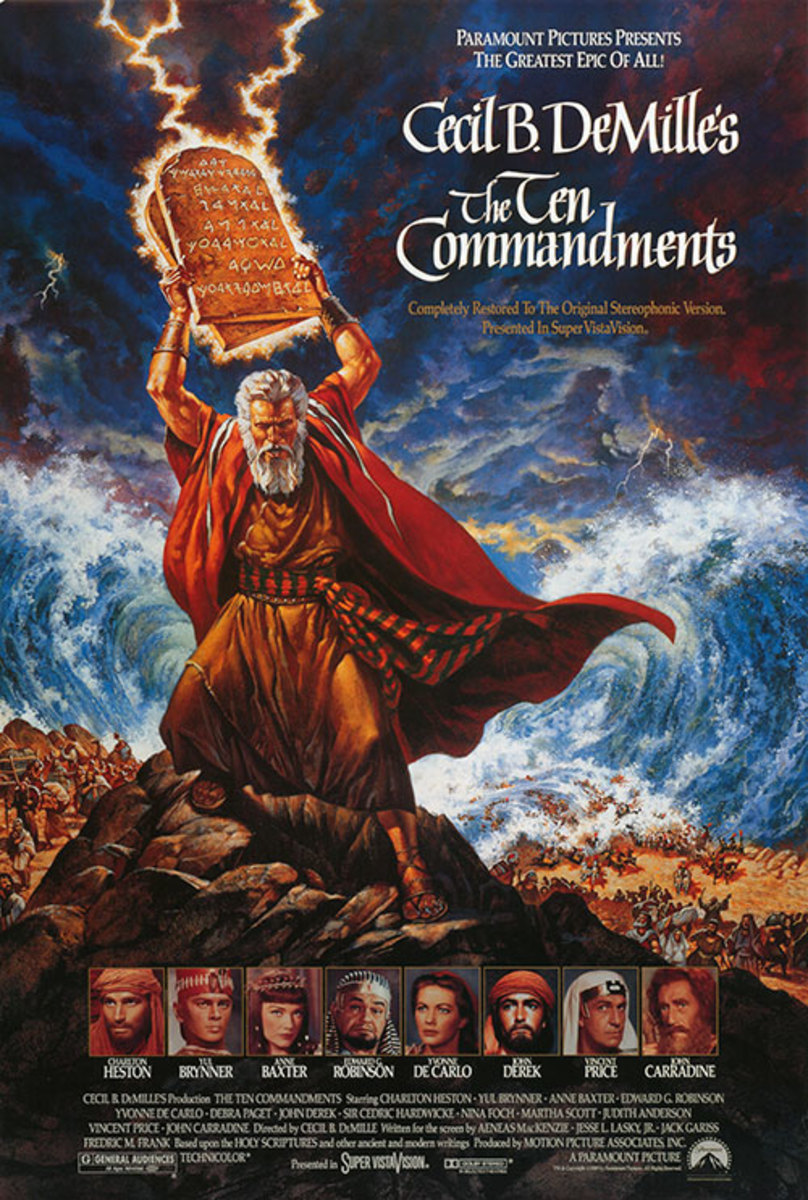 A story about what else? The ten commandments.