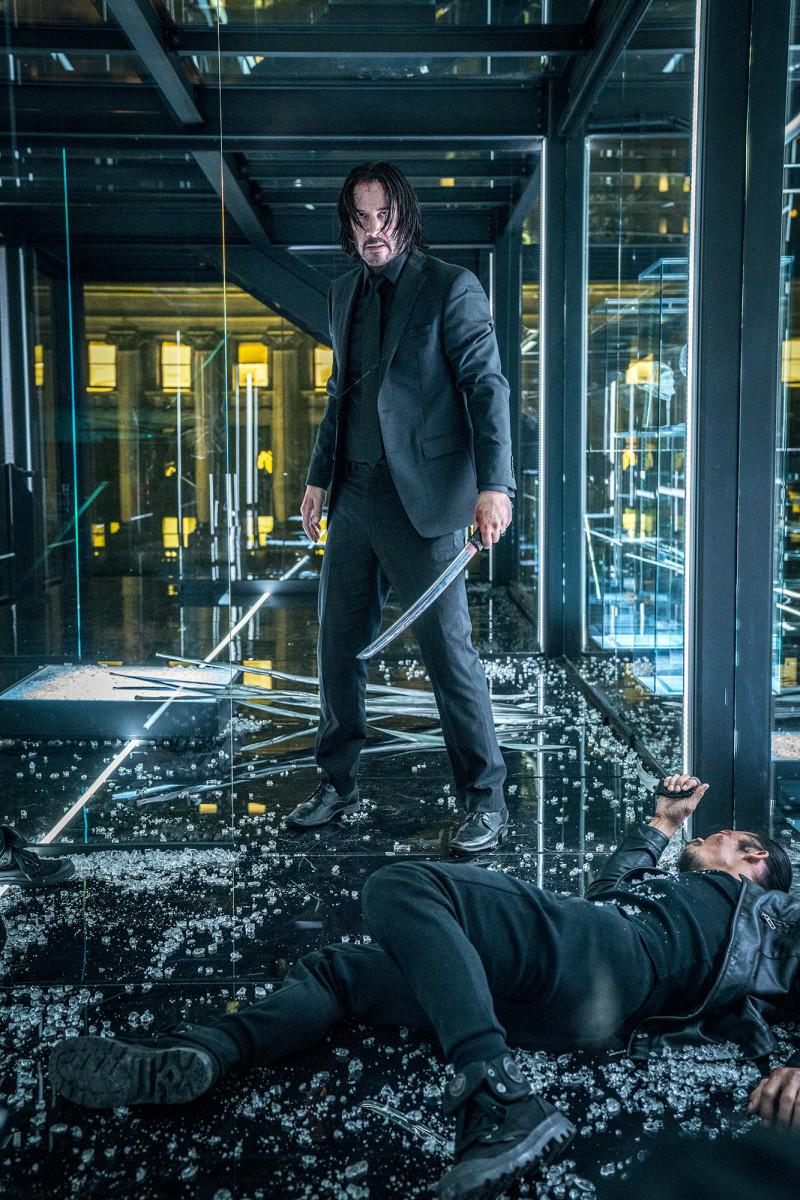 "Keanu Reeves returns as John Wick in, ""John Wick: Chapter 3 - Parabellum."""
