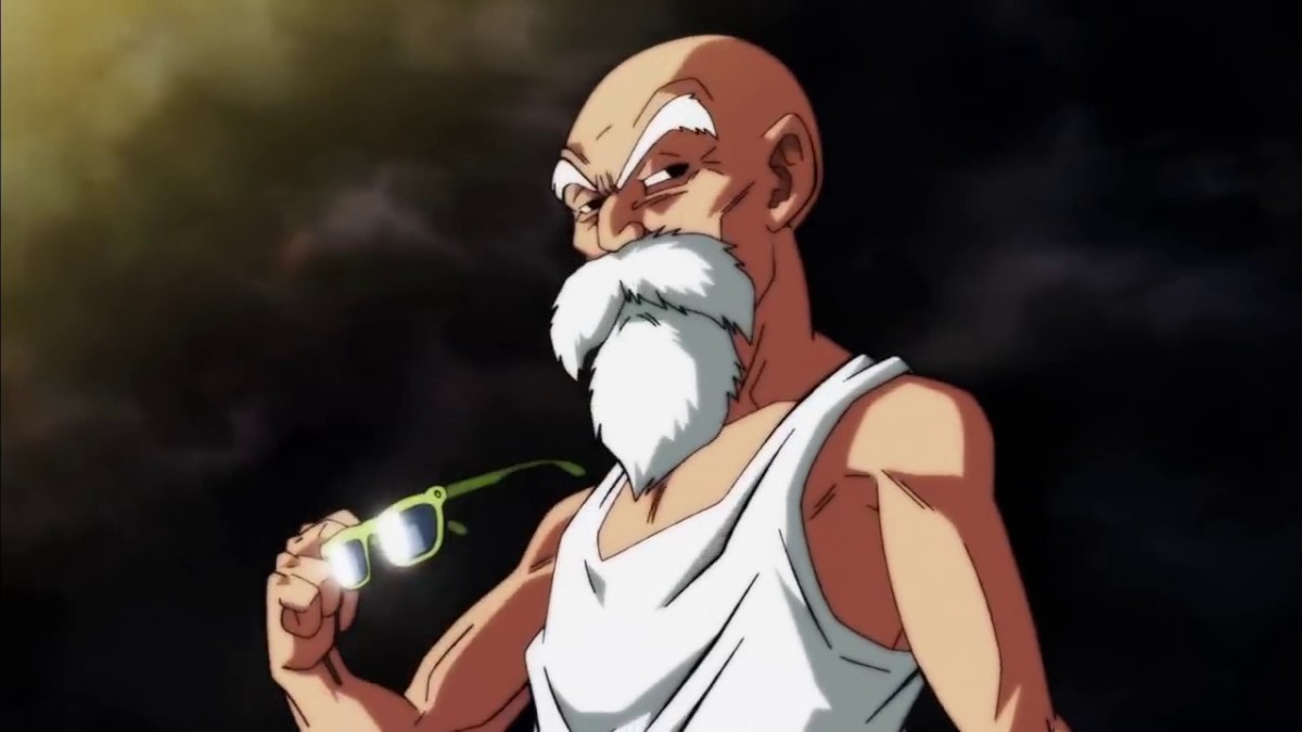 Master Roshi in the Tournament of Power