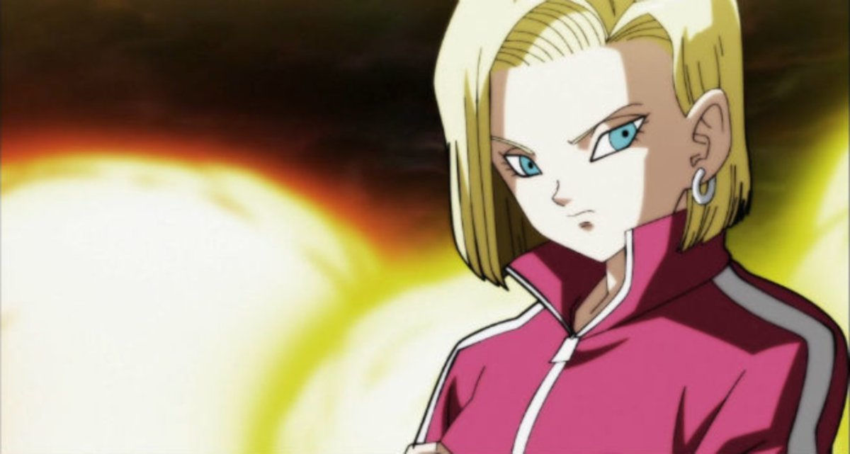 Android 18 in the Tournament of Power