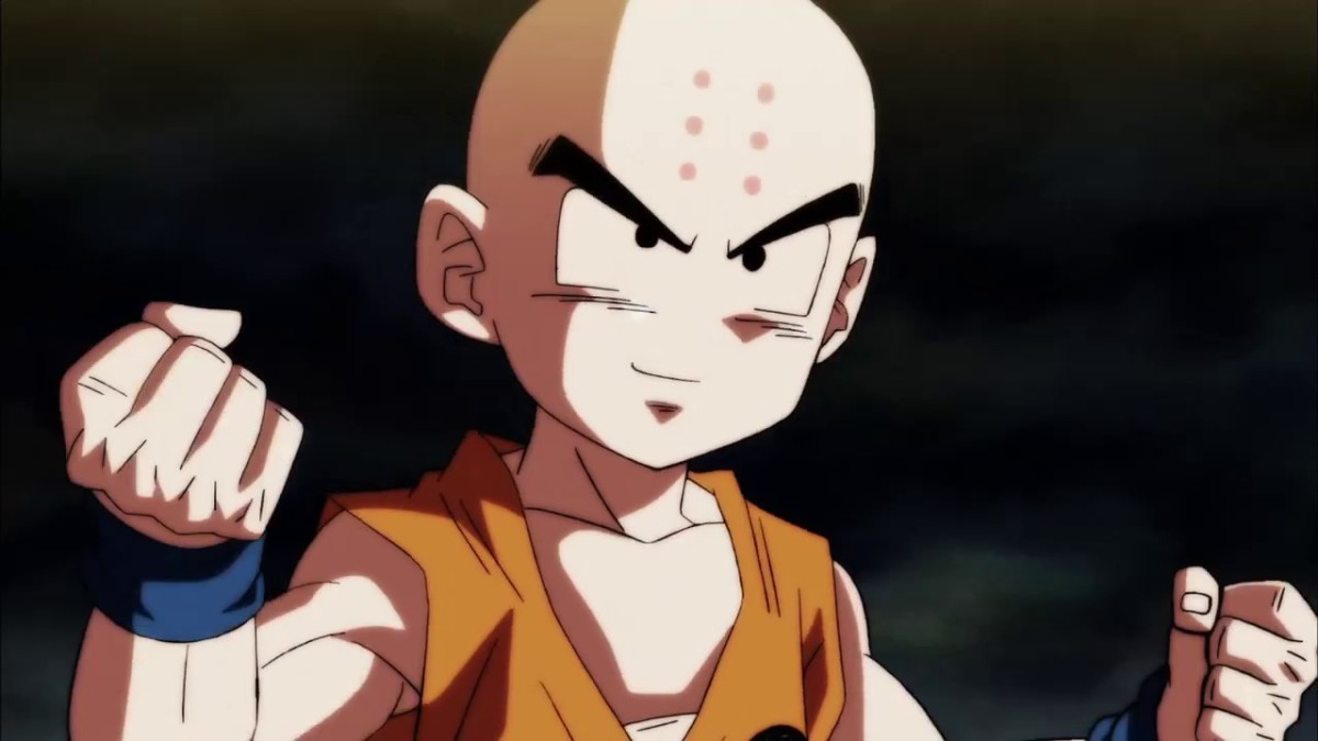 Krillin in the Tournament of Power