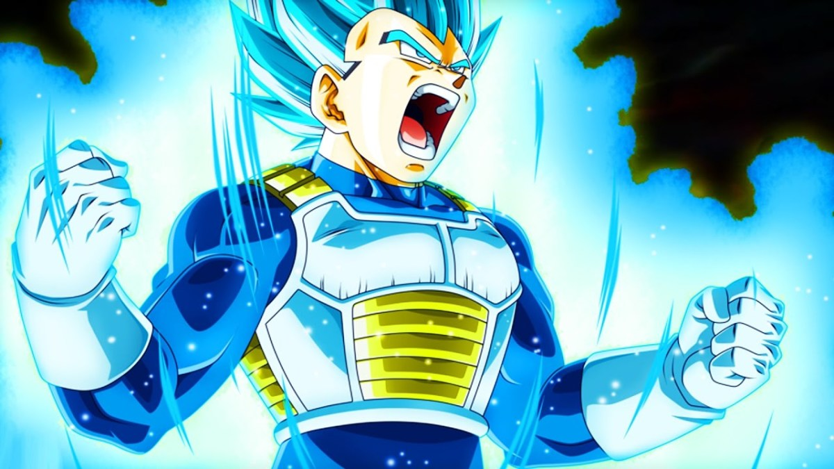 Vegeta in the Tournament of Power
