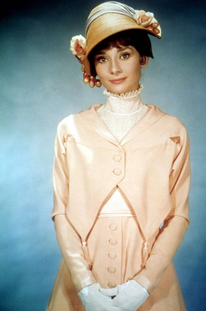 Audrey Hepburn in My Fair Lady.