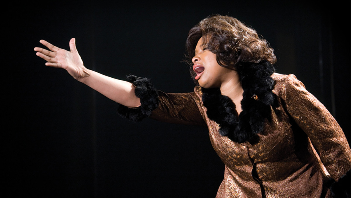 Jennifer Hudson as Effie White in Dreamgirls.