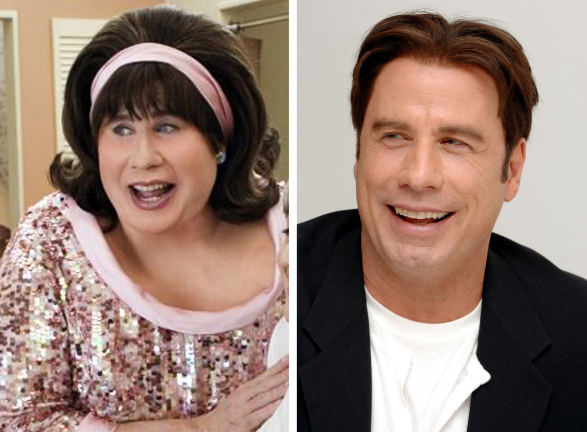 John Travolta in Hairspray.