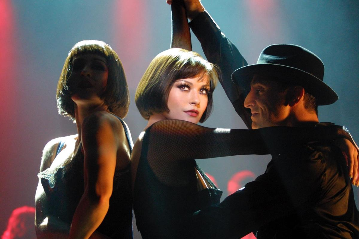 Catherine Zeta-Jones as Velma Kelly in Chicago.