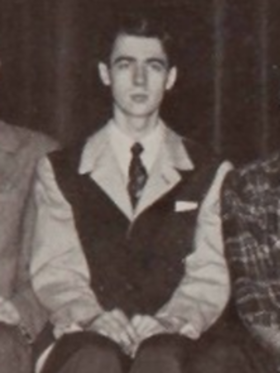 Fred Rogers high school yearbook photo