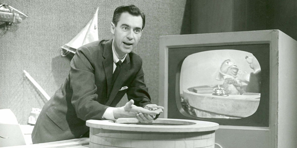 Fred Rogers show broadcast in Canada