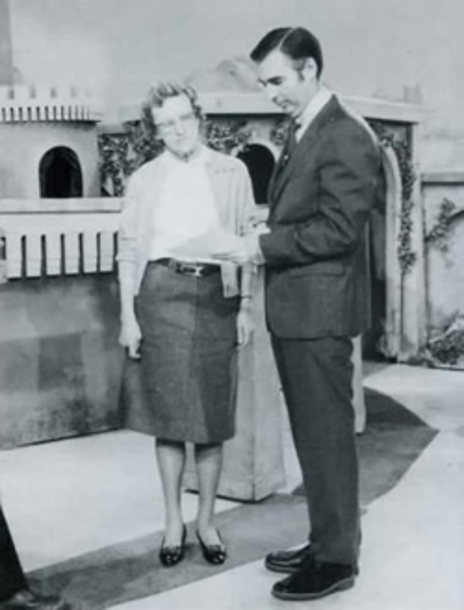 Margaret McFarland and Fred Rogers