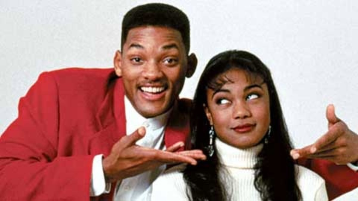 Will Smith & Tatyana Ali.