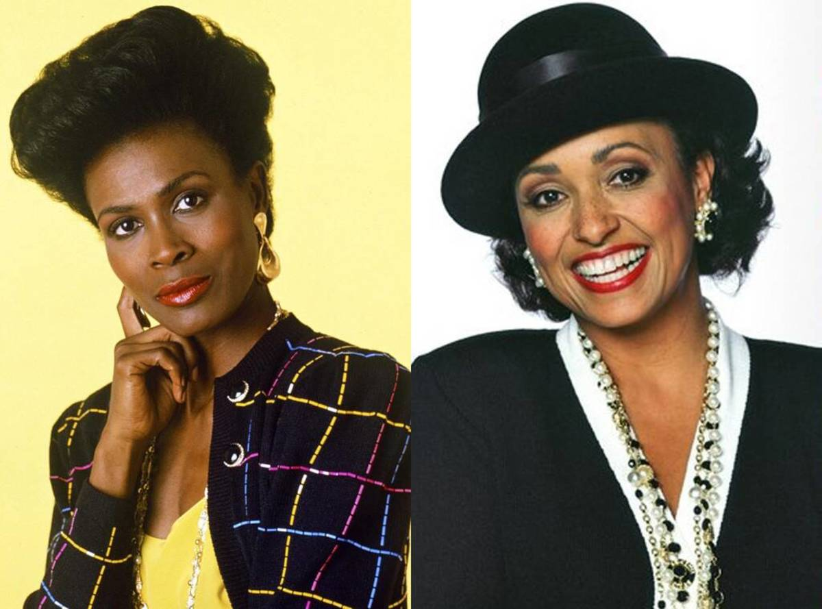 Janet Hubert & Daphne Maxwell Reid as Aunt Viv.