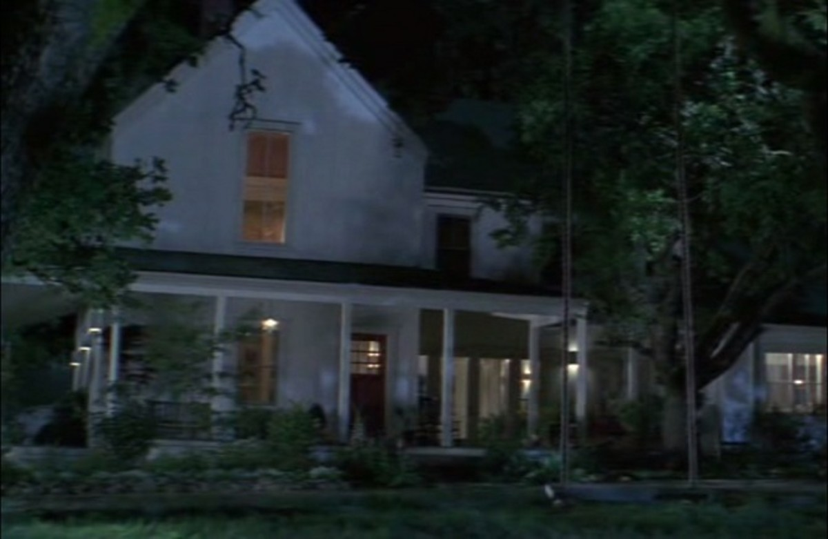 Casey's isolated home in Scream.