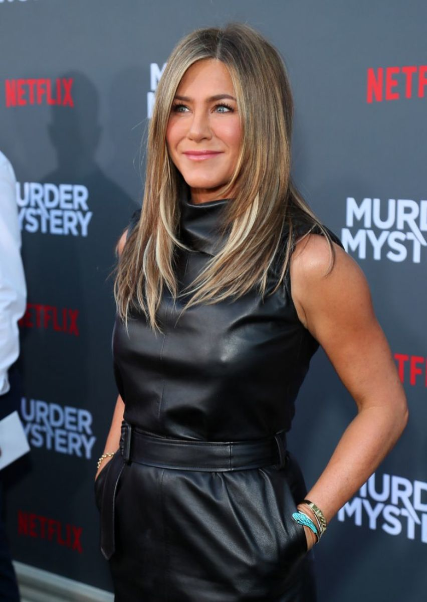 The actress at the premiere of 2019's Murder Mystery.