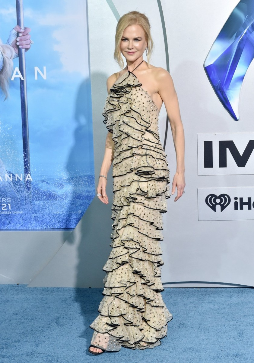 Kidman at the premiere of 2018's Aquaman.