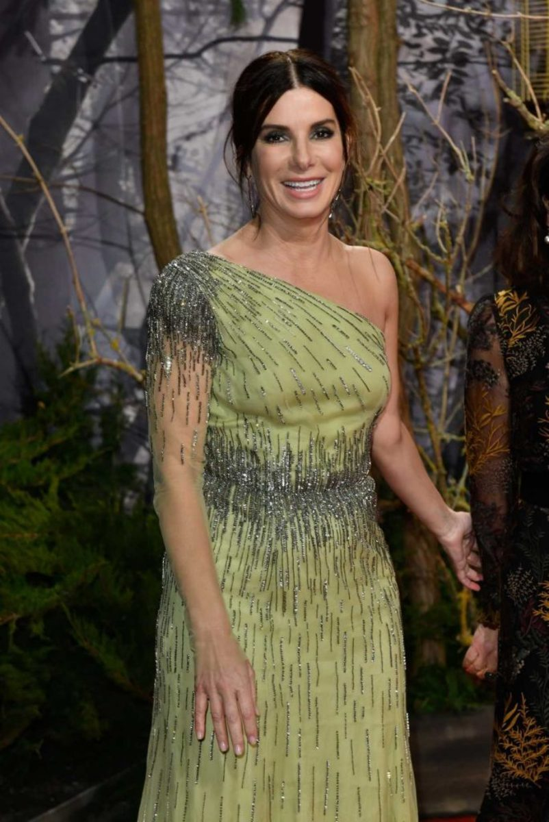 Sandra Bullock at the premiere of 2018's Bird Box.