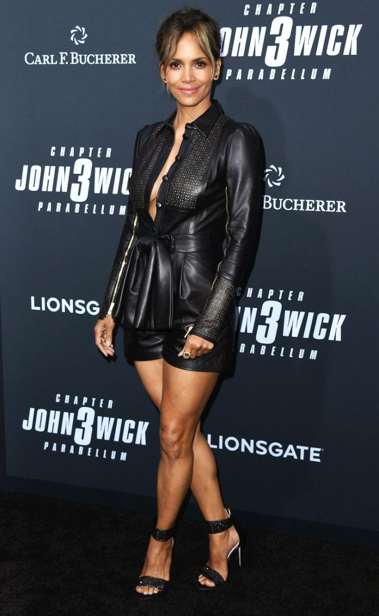 Halle Berry at the premiere of John Wick: Chapter 3--Parabellum.