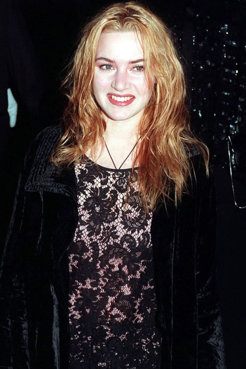 Kate Winslet at the premiere of 1995's Sense and Sensibility.