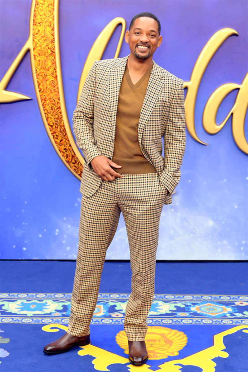 Smith at the premiere of 2019's Aladdin.