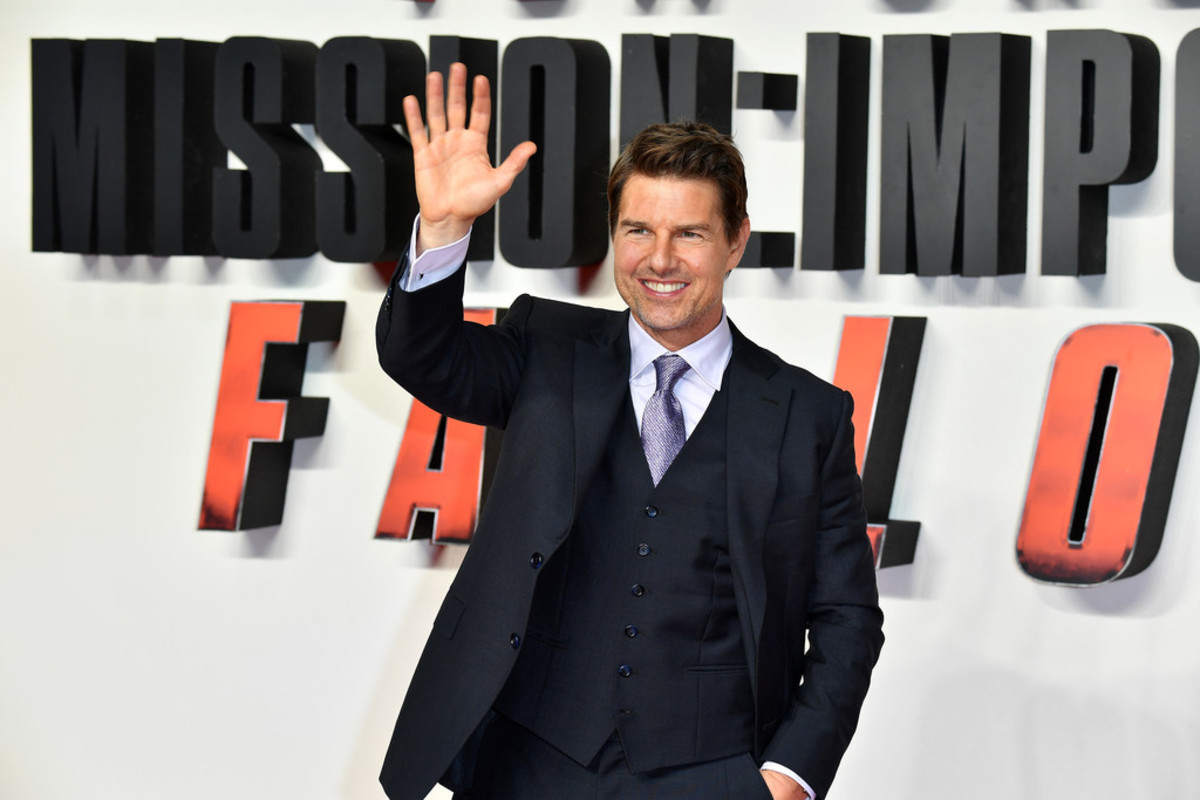 Cruise at the premiere of 2018's Mission Impossible: Fallout.