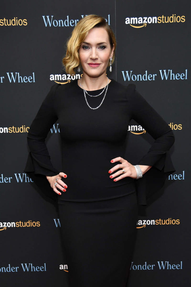 Winslet at the premiere of 2017's Wonder Wheel.