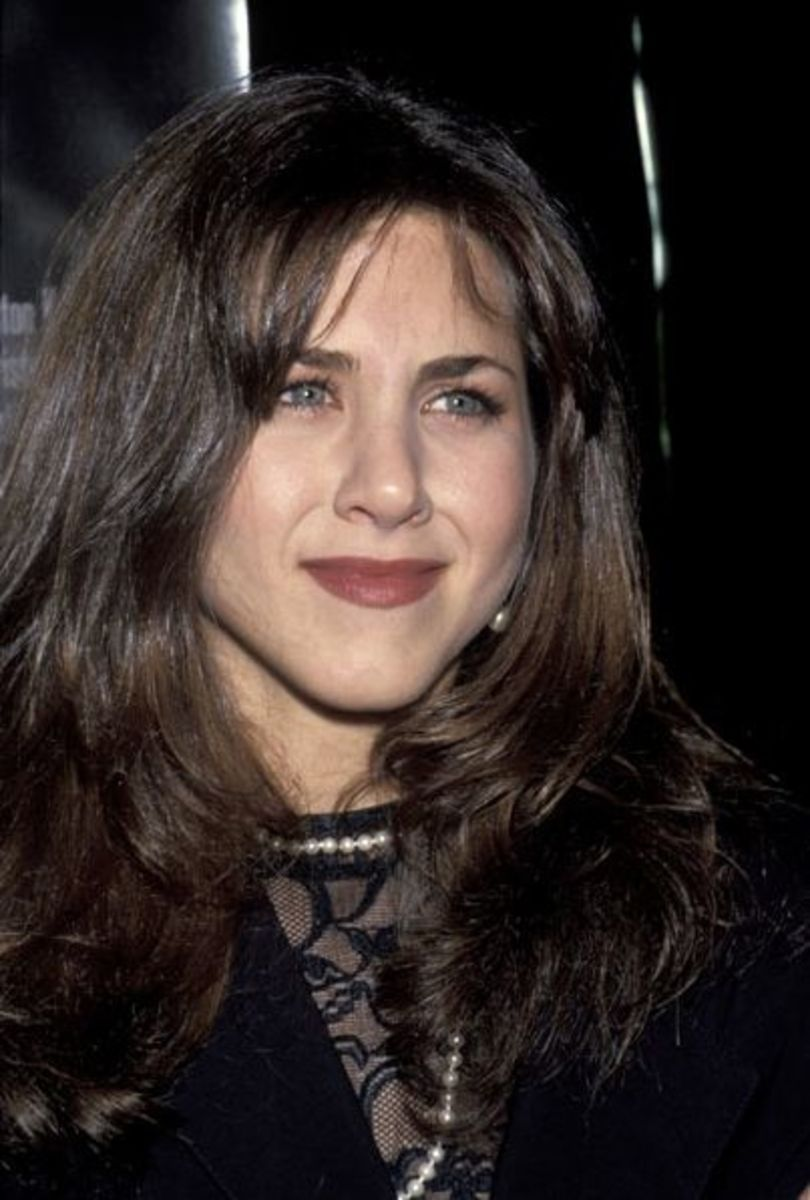 Aniston at the premiere of 1993's Leprechaun.