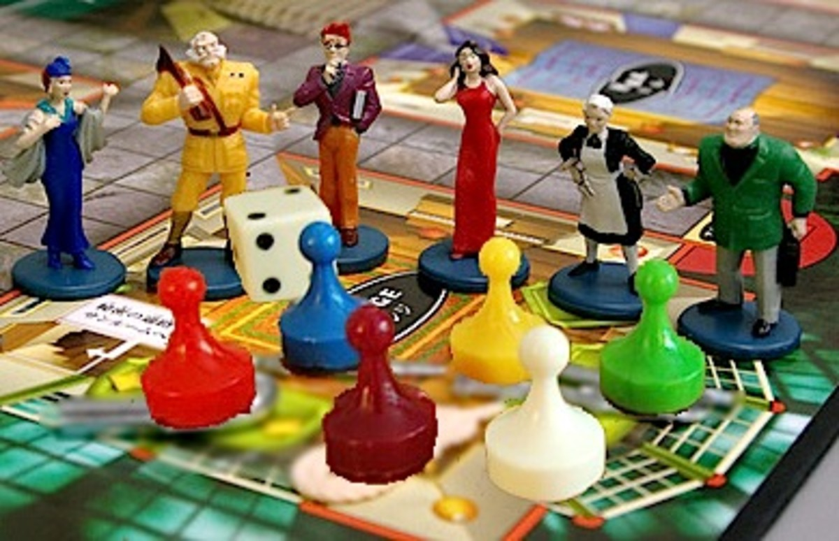 Cluedo the board game...recognise anyone?