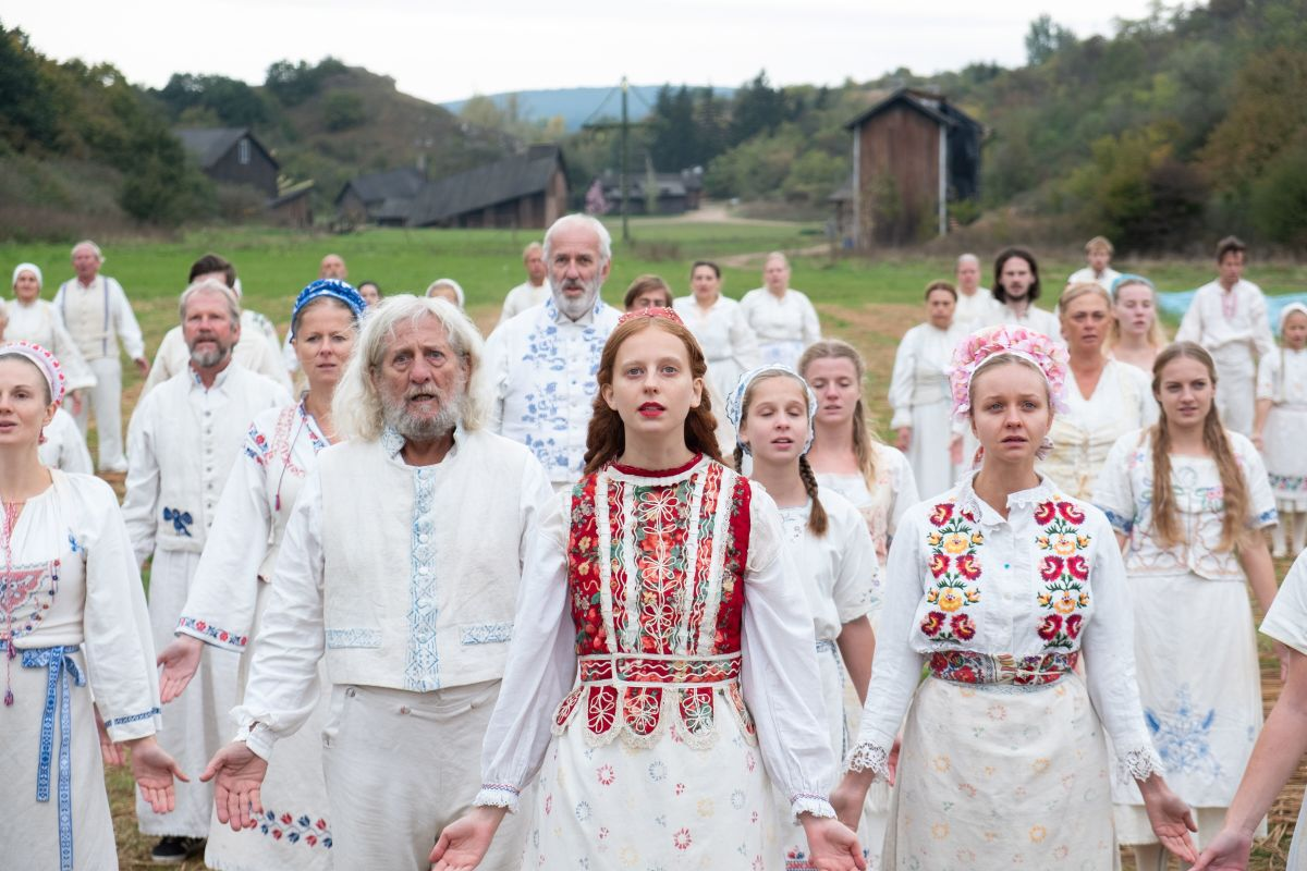"The frock-wearing locals have such sights to show you in, ""Midsommar."""