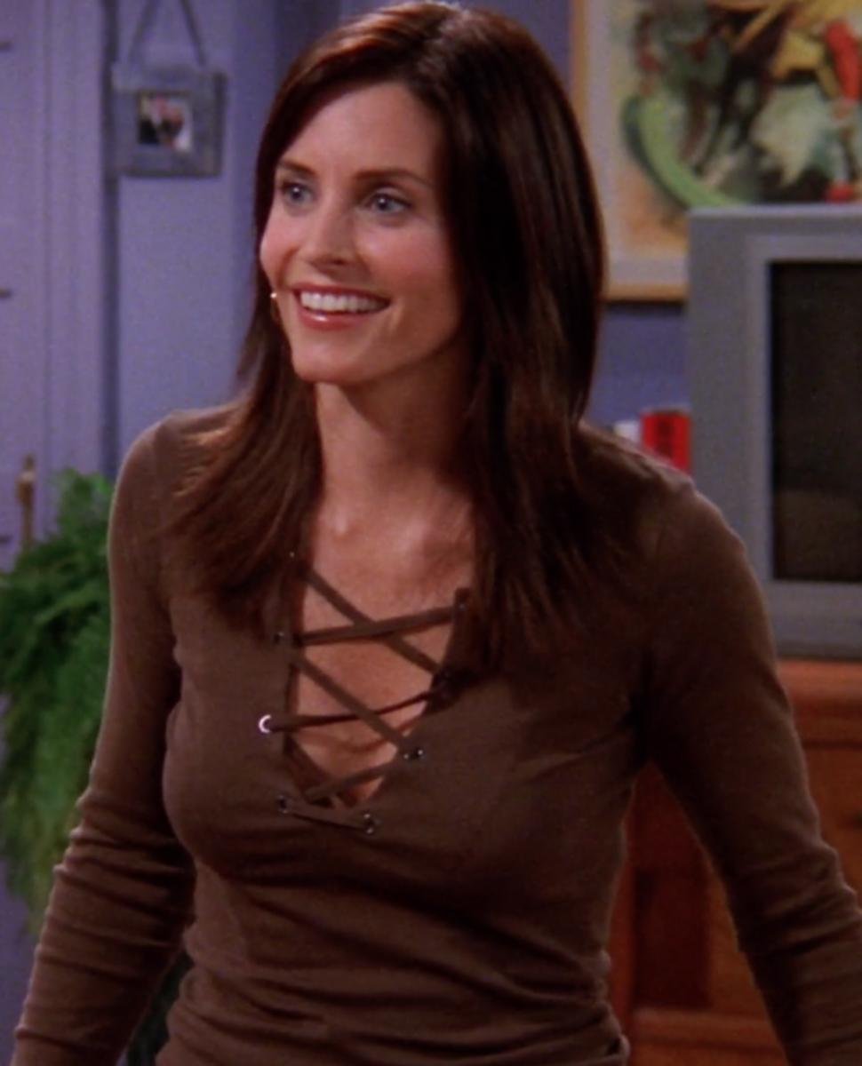 The Hair(volution) of Monica Geller From