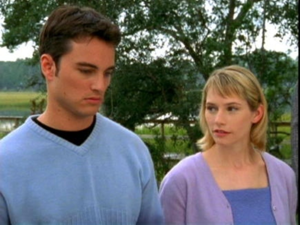 Kerr Smith (Jack) & Meredith Monroe (Andie).