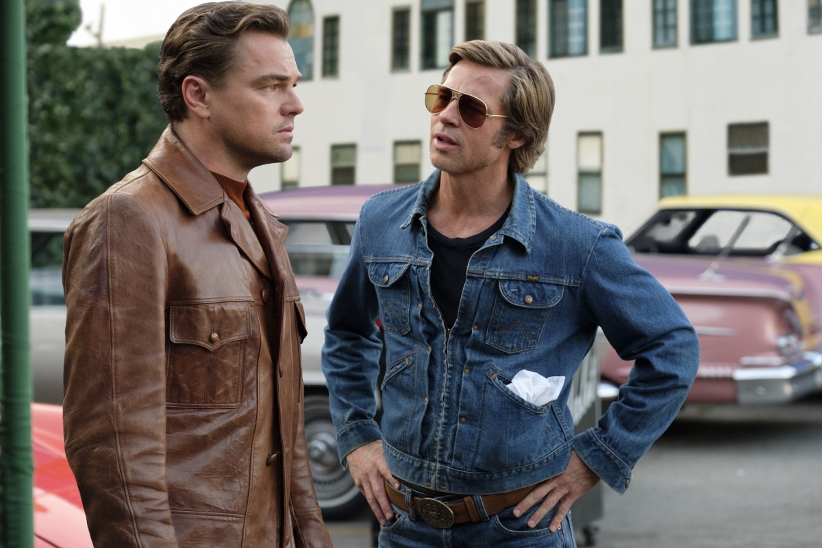 """Leonardo DiCaprio and Brad Pitt as Rick Dalton and Cliff Booth in, """"Once Upon a Time in Hollywood."""""""