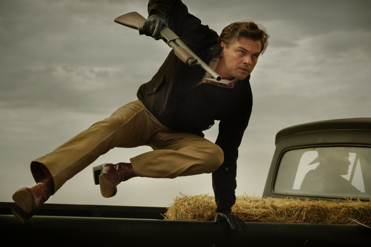 Leonardo DiCaprio as Rick Dalton.