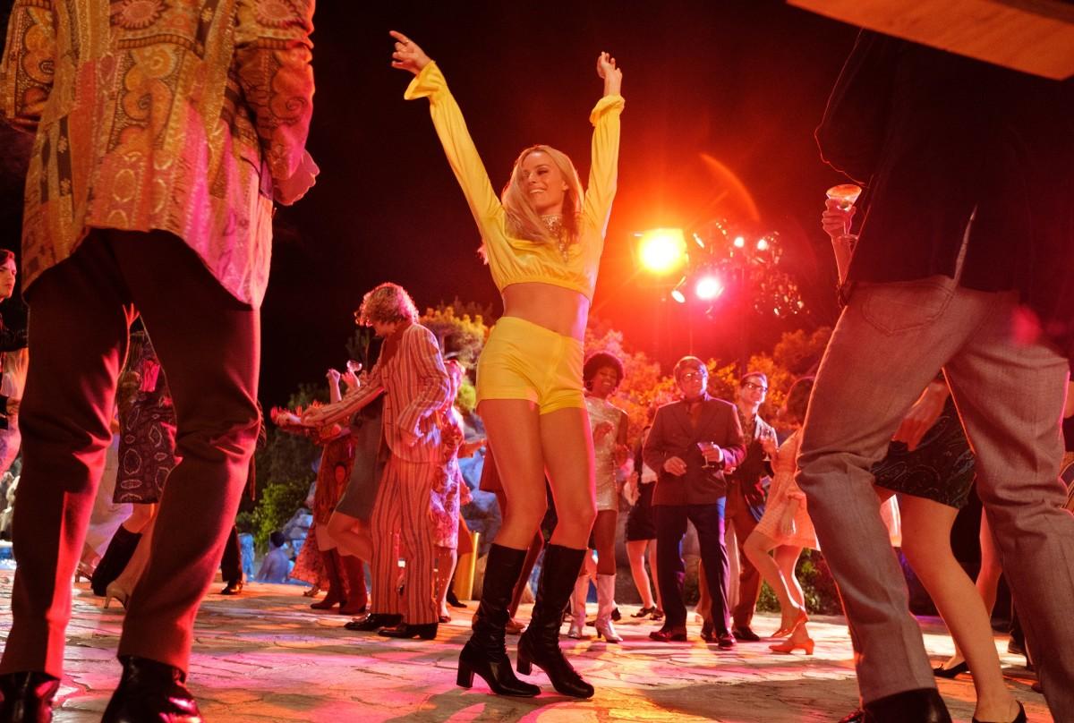 Margot Robbie as Sharon Tate.