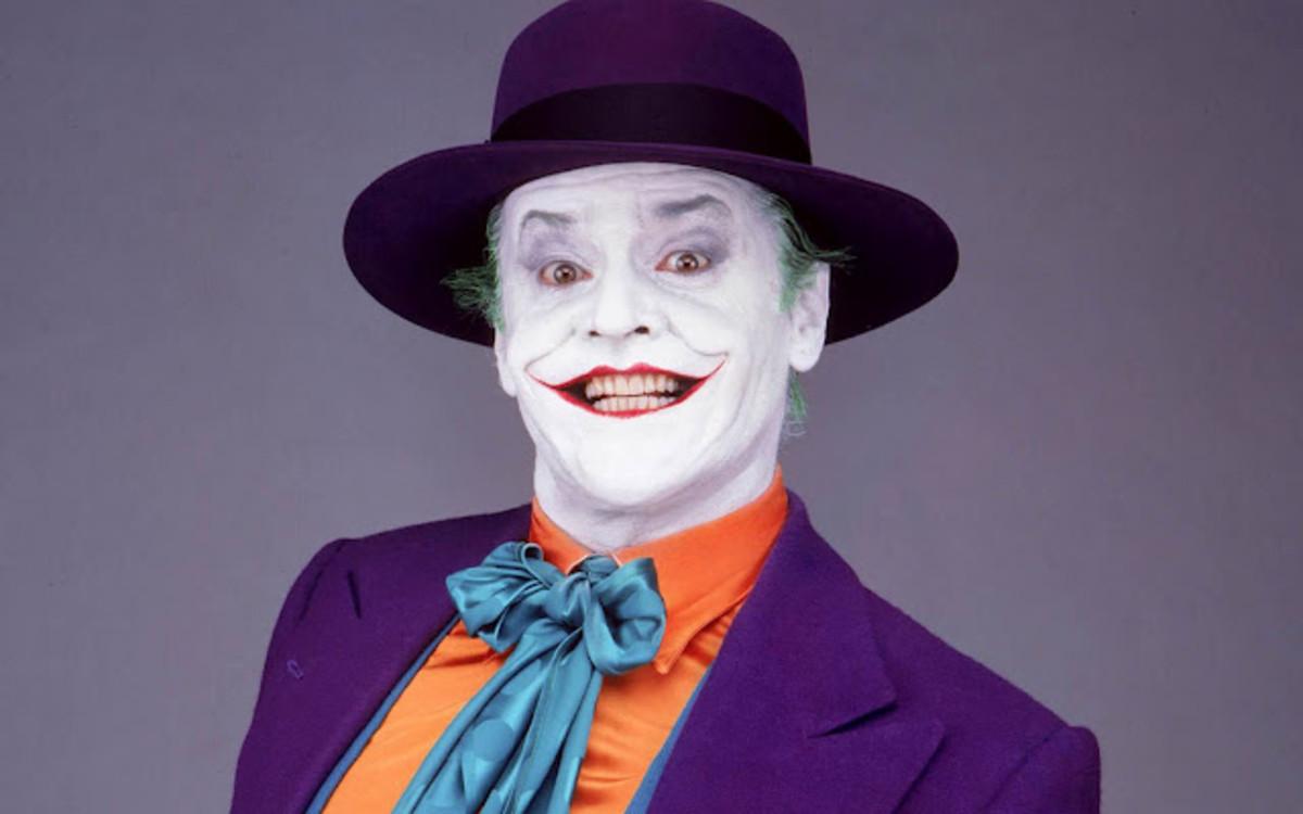 Jack Nicholson as The Joker in Batman.